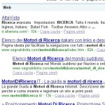 """Primo su Google con """"motori di ricerca"""""""