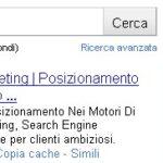 """""""Studio Cappello"""": keyword ad alta resa 2"""