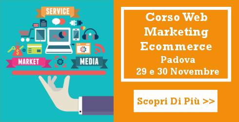 Corso Web Marketing Ecommerce Novembre 2016