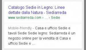 Mobile Friendly Label in SERP