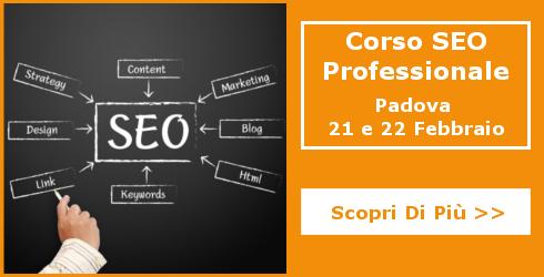 Corso SEO Padova Febbraio 2017