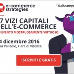 E-commerce Strategies: L'Evento Gratuito 14/12/2016