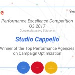 Premio Top Performance Agencies By Google A Studio Cappello