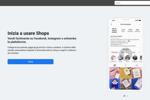 Inizia a Usare Shops